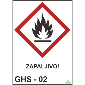 GHS - 02 Zapaljivo
