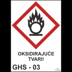 GHS - 03 Oksidarajuće tvari