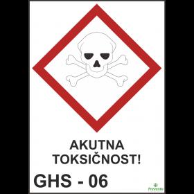 GHS - 06 Akutna toksičnost