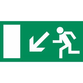 Smjer evakuacije - dolje lijevo IN019