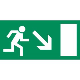 Smjer evakuacije - dolje desno IN023