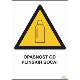 Opasnost od plinskih boca