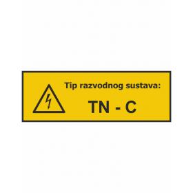 Tip razvodnog sustava TN - C