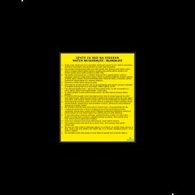 Upute za rad na siguran način na glodalici - blanjalici
