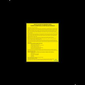 Upute za rad na siguran način - bušeća garnitura za vertikalno bušenje