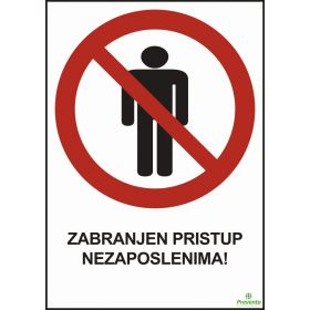 Zabranjen pristup nezaposlenima