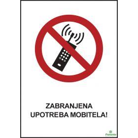 Zabranjena upotreba mobitela