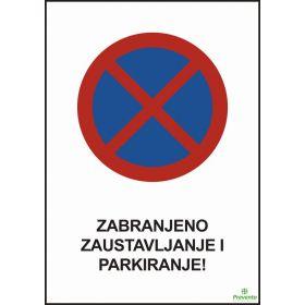Zabranjeno zaustavljanje i parkiranje