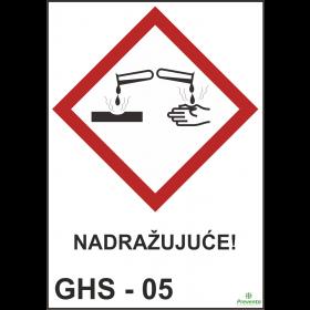 GHS - 05 Nagrizajuće
