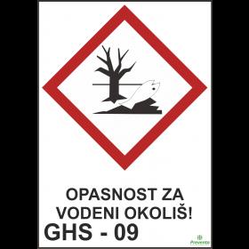GHS - 09 Opasnost za vodeni okoliš