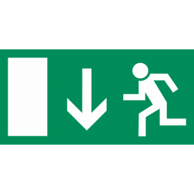 Smjer evakuacije - ravno IN021