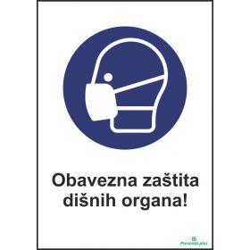 Obavezno zaštititi dišne organe