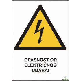 Opasnost od električnog udara