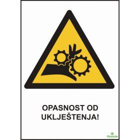 Opasnost od uklještenja OP-016