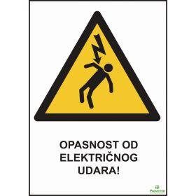 Opasnost od električnog udara OP-088