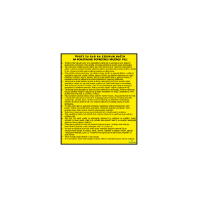 Upute za rad na siguran način na podstolnoj poprečnoj kružnoj pili
