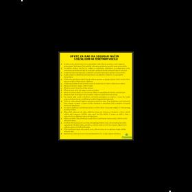 Upute za rad na siguran način s dizalicom na teretnom vozilu